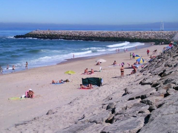 Praia do Furadoura aan de Costa Verde vakantie portugal