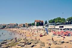 strand praia da duquesa portugal vakantie costa lisboa