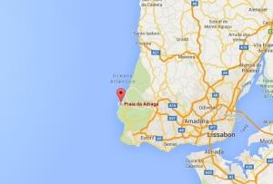 praia de agrada strand vlakbij lissabon - vakantie portugal