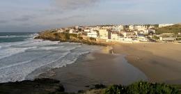 praia das macas strand portugal