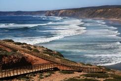 sagres-carrapateira-beach-strand vlakbij sagres