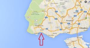 tamariz strand portugal
