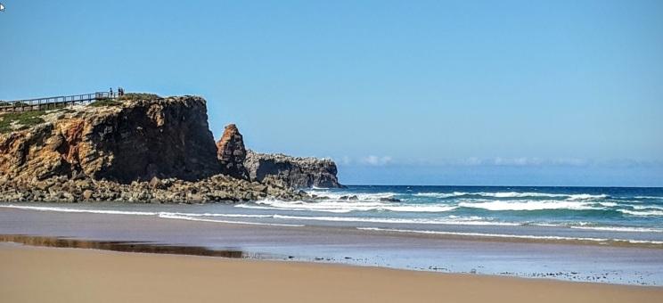 Praia da Bordeira, Portugal vakantie algarve mooi strand 001