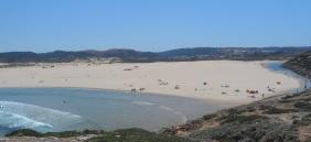 Praia da Bordeira, Portugal vakantie algarve mooi strand 0012