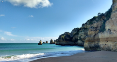Praia Dona Ana- lagos vakantie strand Algarve Portugal vakantie 3