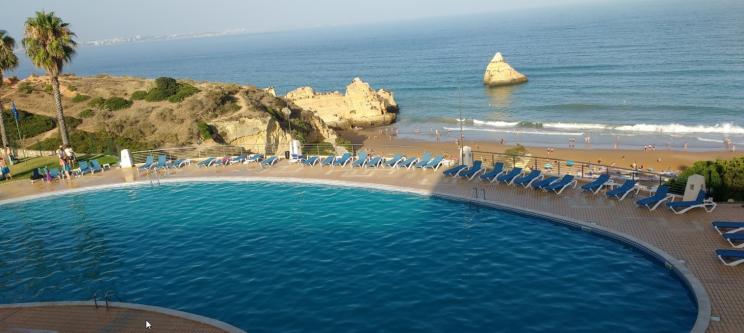Praia Dona Ana- lagos vakantie strand Algarve Portugal vakantie 4