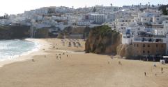 quarteira vakantie algarve portugal stranden 12