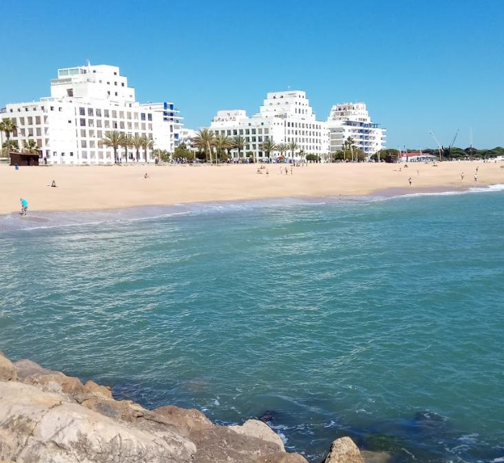 quarteira vakantie algarve portugal stranden 1234