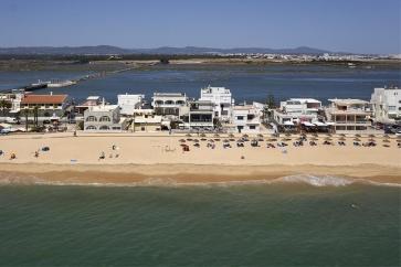 Praia-de-Faro-Mar mooi strand bij Faro ALgarve Portugal