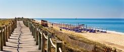 Praia de -Garrao-Villas-vakantie portugal Algarve - mooi strand 1