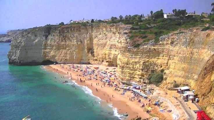 Praia do Vale de Centeanes , super mooi strand Algarve, 001