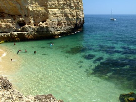 Praia do Vale de Centeanes , super mooi strand Algarve, 003