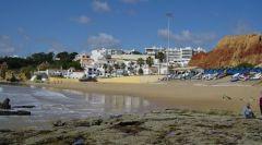 mooi strand ponta-de-miramar-porto- costa verde vakantie portugal 003