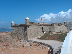 Praia Castelo do Queijo super mooi strand vlakbij Porto, Noord- Portugal vakantie 003