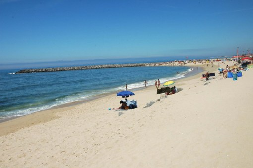 praia de espinho super mooi strand bij porto portugal vakantie 001