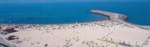 praia de espinho super mooi strand bij porto portugal vakantie 002