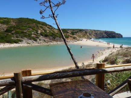 praia do zavial, vlakbij sagres en lagos, mooi strand algarve 002