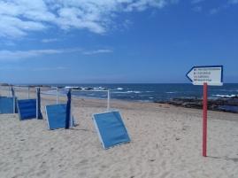 Miramar beach strand vlakbij Porto