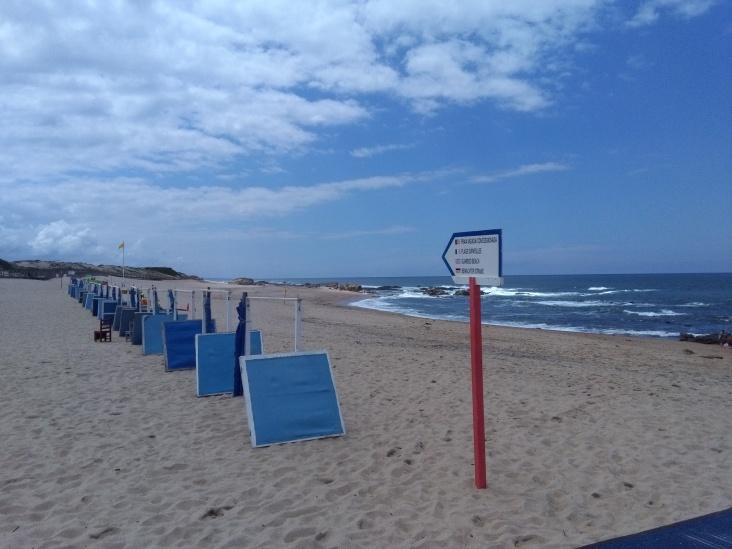 Miramar strand bij Porto