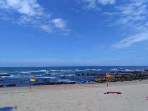 strand Miramar bij Porto