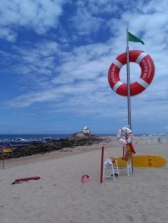 strand van Miramar nabij Porto
