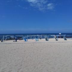 Miramar strand vlakbij Porto