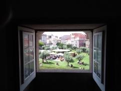 uitzicht vanuit toren