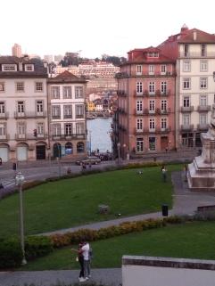 uitzicht op de Douro