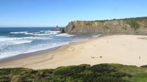 praia de Odeceixe-mooi strand algarve portugal vakantie 001