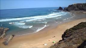 praia de Odeceixe-mooi strand algarve portugal vakantie 002
