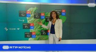weerbericht portugal op tv