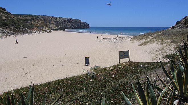 praia da ingrina snorkelen en duiken algarve raposeira