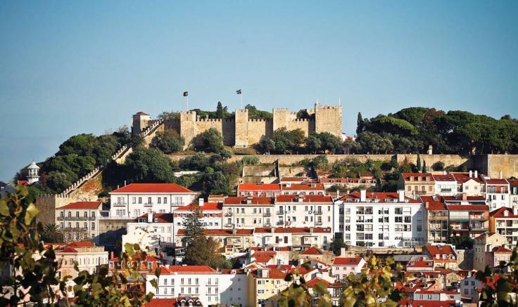 kasteel sao jorge lissabon kasteel castelo