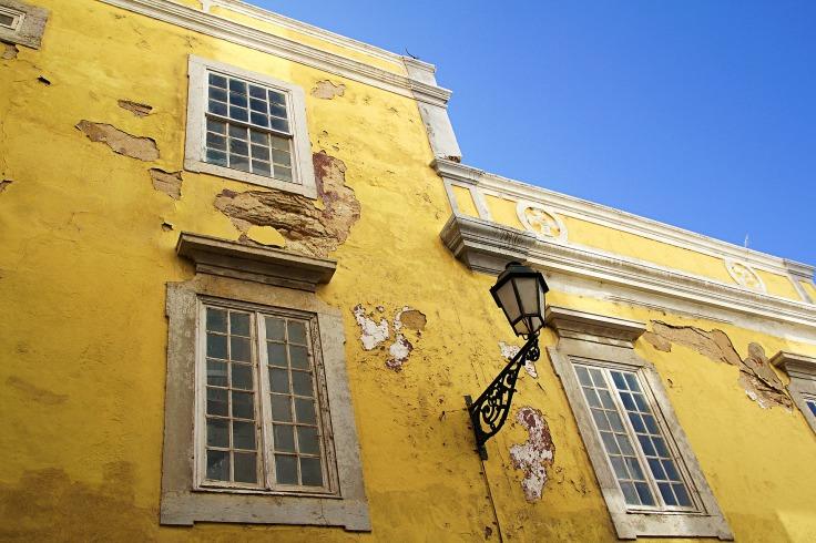 gebouw in Faro - vakantie portugal