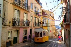 lissabon tram vakantie