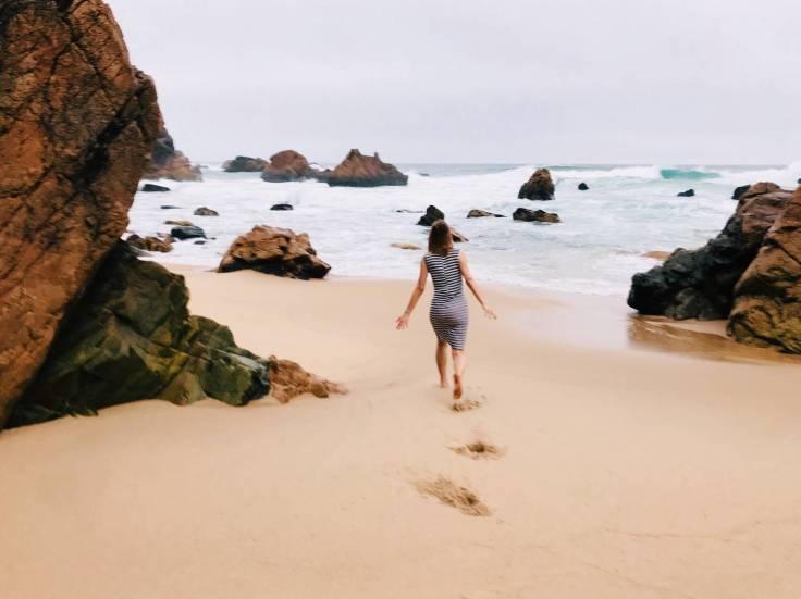 single op vakantie naar portugal