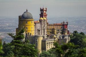 sintra kasteel vakantie portugal