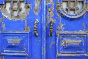 portugal-deur blauw