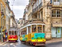 portugal-tram lissabon