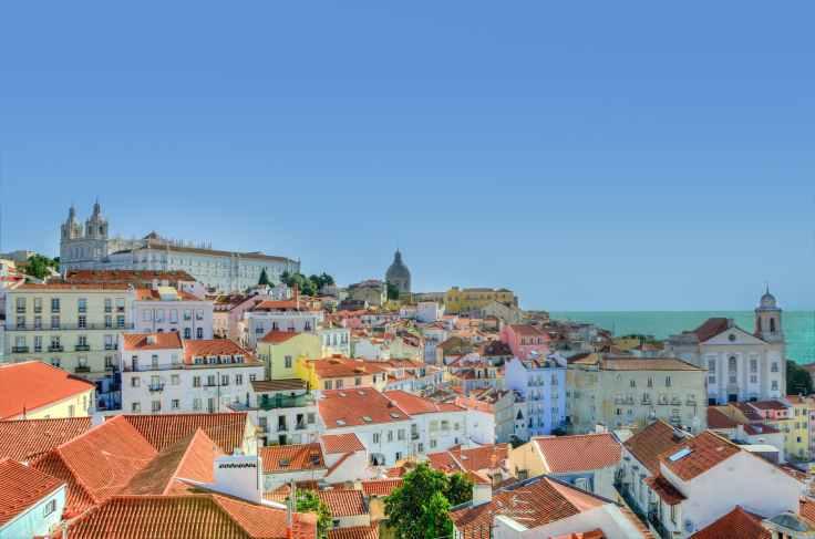 stad uitzicht portugal