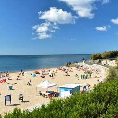 stranden tussen Lissabon en Cascais en Estoril 6