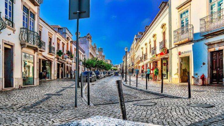 tavira-straatjes vakantie portugal