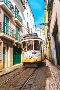 tram-lissabon vakantie portugal