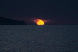 zonsondergang azoren vakantie portugal