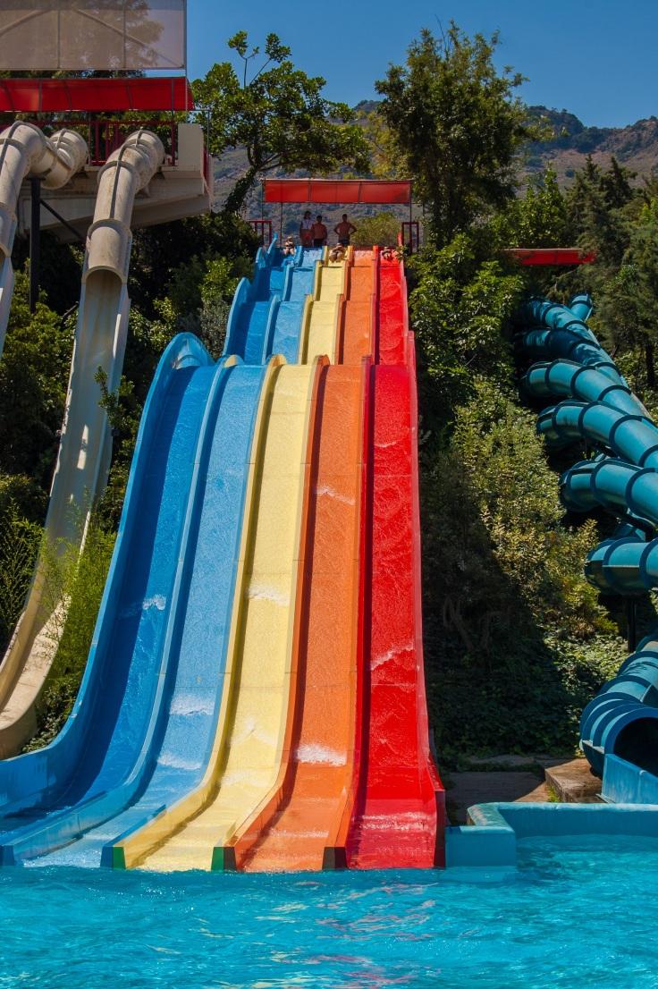 waterpark Portugal aquapark met glijbanen 6789