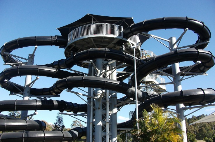 waterpark Portugal aquapark met glijbanen 76 53453123