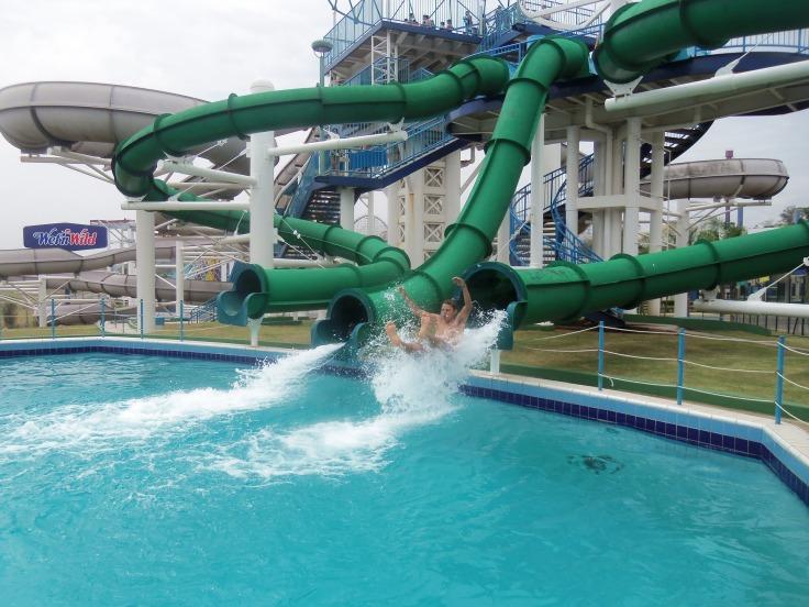 waterpark Portugal aquapark met glijbanen 76444 123